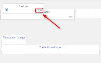 Cara mengganti favicon blogger.com