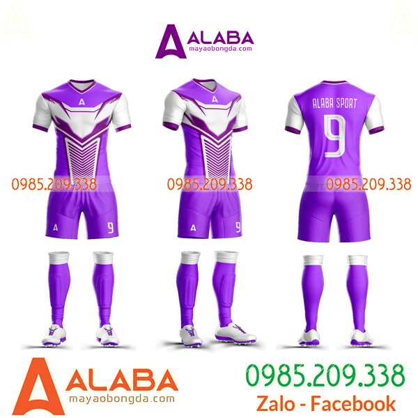 Áo bóng đá màu tím