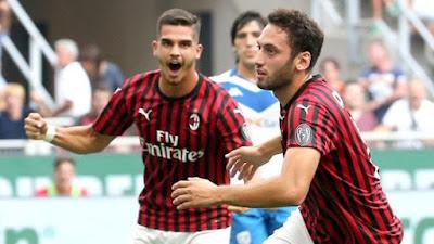 prima vittoria rossonera a san siro contro la squadra bresciana