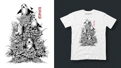 "Star Wars: The Last Jedi ""Porgs"" Australian Artist Edition T-Shirt by Ken Taylor x RadioVelvet"