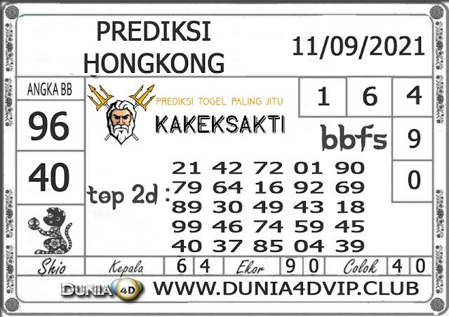 Prediksi Togel HONGKONG DUNIA4D 11 SEPTEMBER 2021
