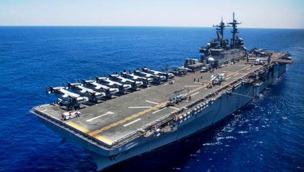 Kapal serang amfibi USS Wasp