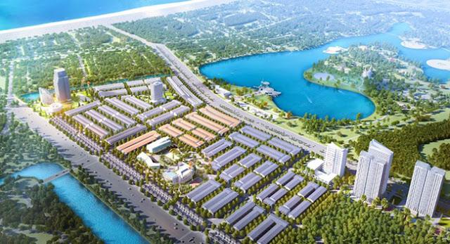 Phối cảnh tổng thể dự án Lakeside Palace