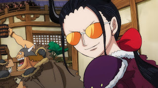 ワンピースアニメ 991話 ワノ国編 | ONE PIECE ニコロビン