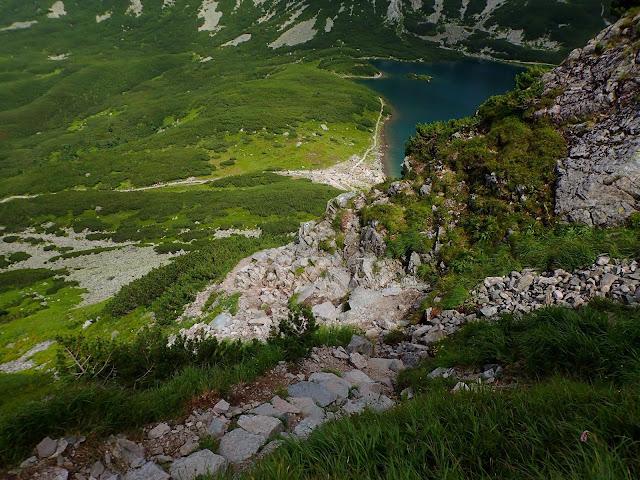 Ścieżka na Karb