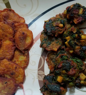 Vegetable pakoda recipe, aloo pakoda recipe