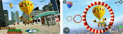 Flying Taxi Simulator Air Ballon Taxi Driving 3D