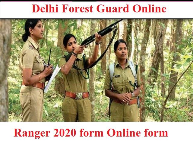 Delhi Forest Guard Online 2020