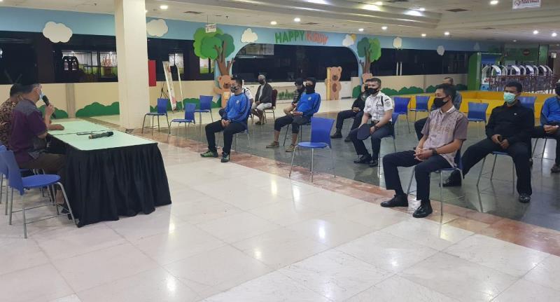 Pemko Batam Beri Latihan Pengelola Pusat Perbelanjaan Terapkan Protokol Kesehatan