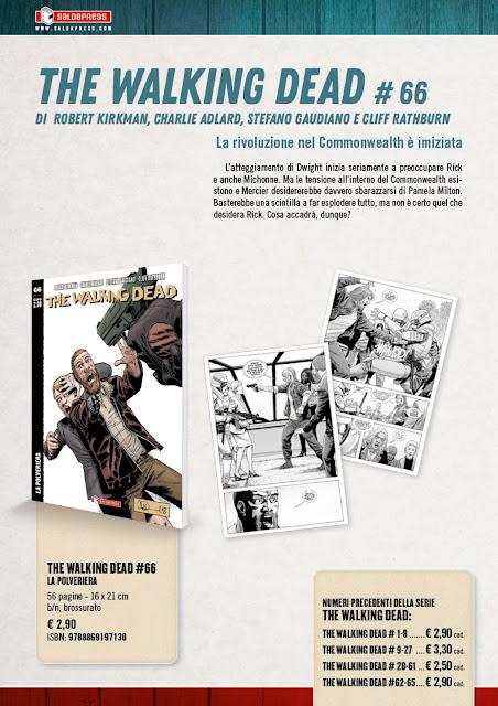 The Walking Dead #66: La polveriera (tavole)