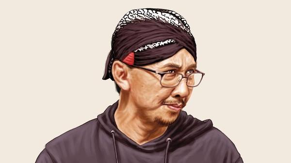Abu Janda Mengaku Raih Jackpot Berkat Jadi Buzzer Jokowi