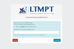 Cara Melihat Nomor Peserta SNMPTN 2019 untuk SBMPTN 2019