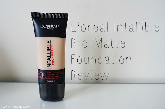 loreal, loreal infallible, loreal infallible pro matte foundation, loreal infallible pro matte foundation review, loreal infallible pro matte foundation in 103 natural buff, loreal infallible pro matte foundation review in 103 natural buff, 103 natural buff