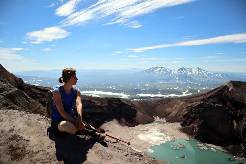 Камчатка вулкан Горелый