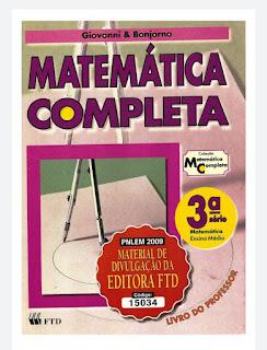Manual do professor Matemática