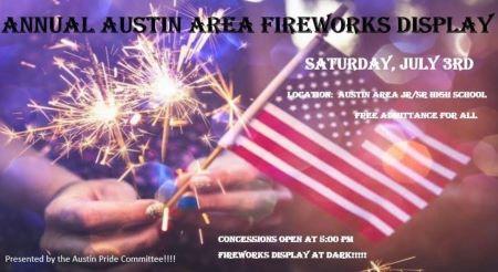7-3 Austin Annual Fireworks Show
