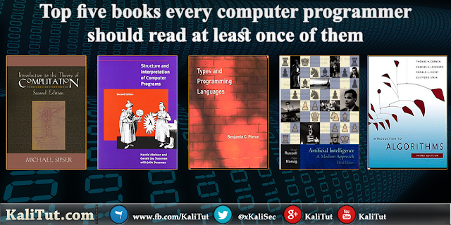 Top five Programming books