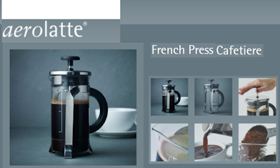 French Press Coffee Maker, membuat kopi tanpa ampas