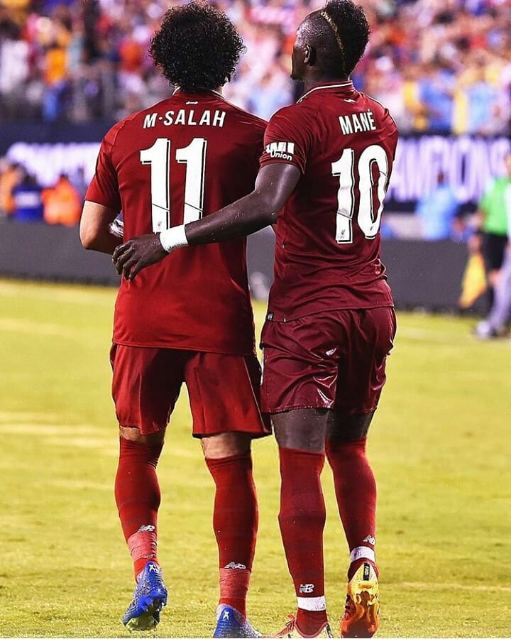 Liverpool Duo Salah & Mane Nominated For CAF 2019 Award (See Full List)