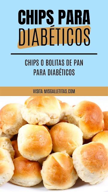 Chips o bolitas de pan sin azúcar ¡Receta paso a paso!