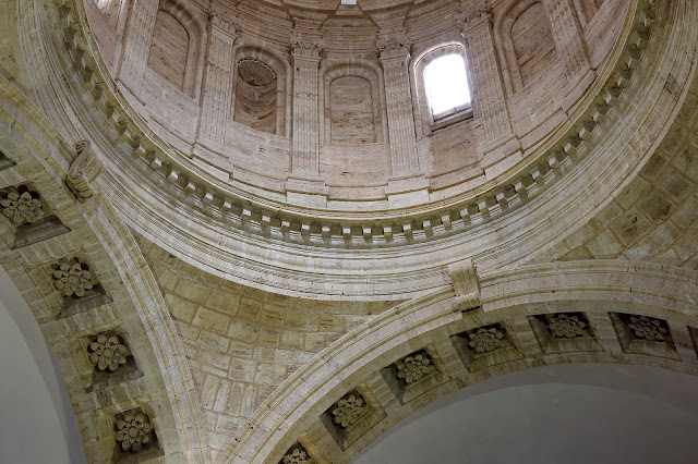 The cupola of the San Biagio temple