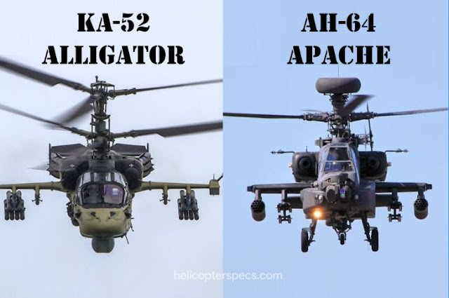 AH-64 Apache Vs Ka-52 Alligator