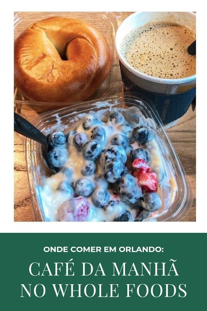 Café da manhã no Whole Foods (onde comer em Orlando)