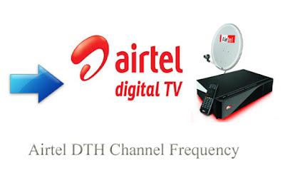 Airtel Digital TV d2h Channel List Update Frequency