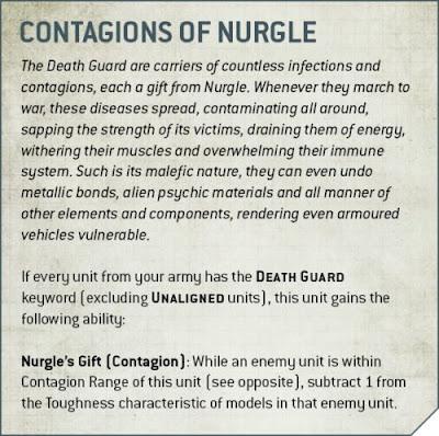 contagios de nurgle