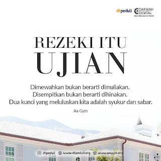 motivasi islam tentang rezeky