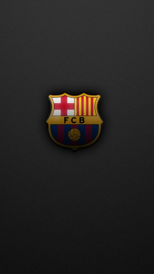 FC Barelona Logo  Galaxy Note HD Wallpaper