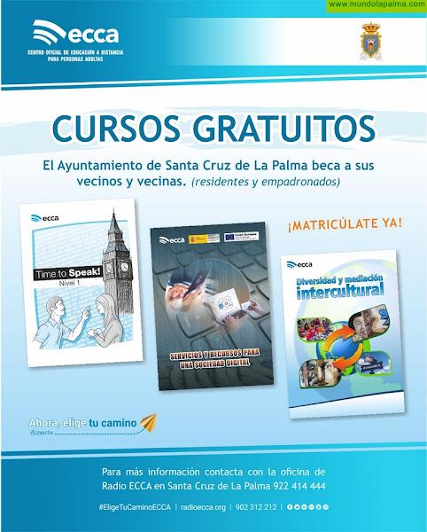 """Santa Cruz de La Palma y Radio ECCA ofertan el curso """"Servicios y recursos para una Sociedad Digital"""""""