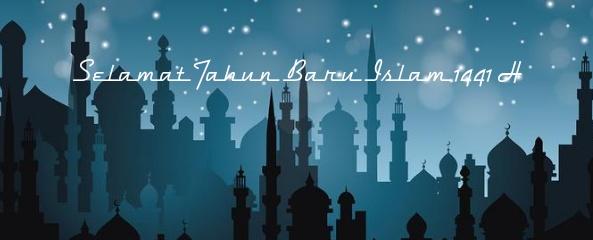 dedain spanduk tahun baru islam