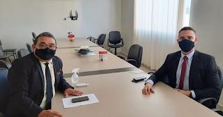 Nal e Ramom se reúnem e avaliam desempenho da bancada do MDB na CMG