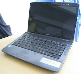 jual 2nd notebook acer aspire 4740