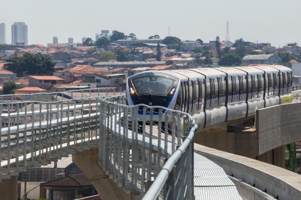 FALHA: Interferência na via prejudica Linha 15-Prata do Monotrilho na tarde desta segunda-feira (2)