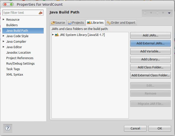 Running a Wordcount Mapreduce example in Hadoop 2.4.1 Single-node Cluster in Ubuntu 14.04 (64-bit)