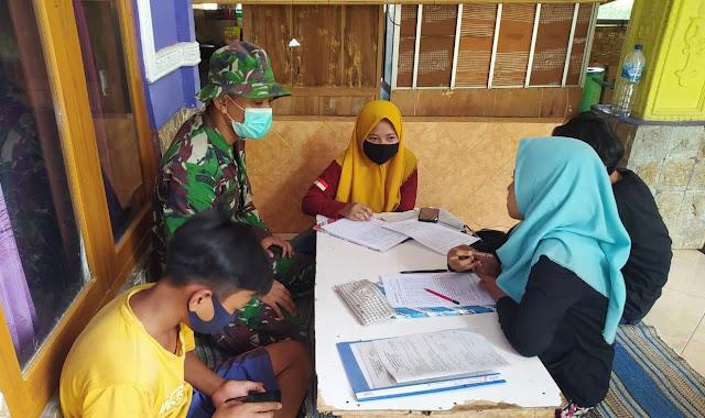 Satgas TMMD 109 Dorong Pemuda Masuk TNI