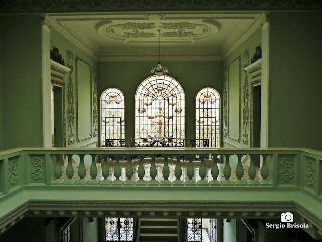 Palacete Violeta (Piso superior - Vitrais da Escadaria)