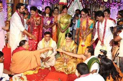 Rayane Radikaa and Abhimanu Mithun Marriage Photos
