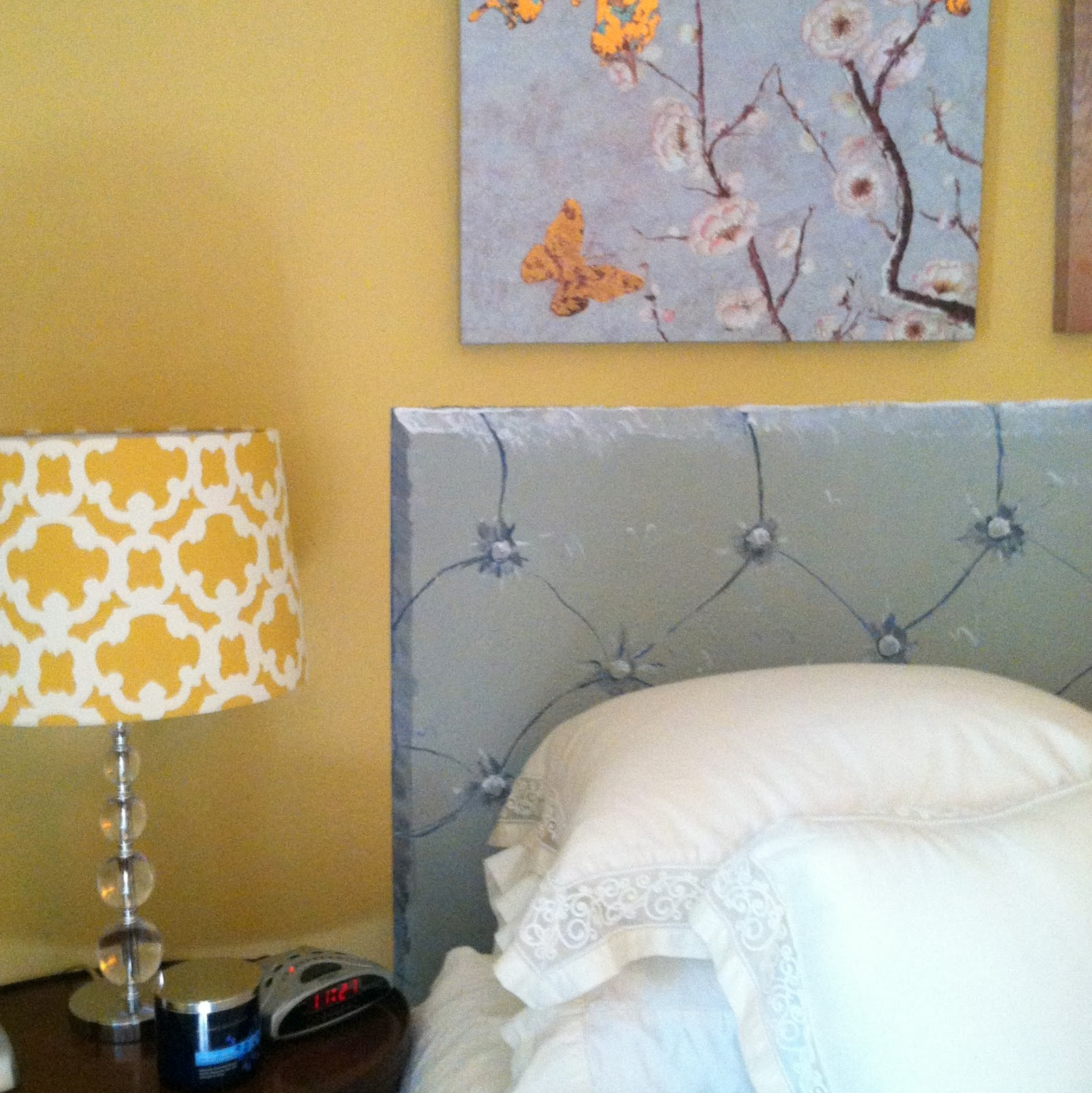 Optimism And White Paint Painting A Trompe L Oeil Tufted
