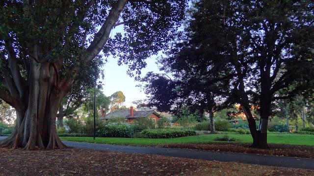 Map Flagstaff Gardens Melbourne