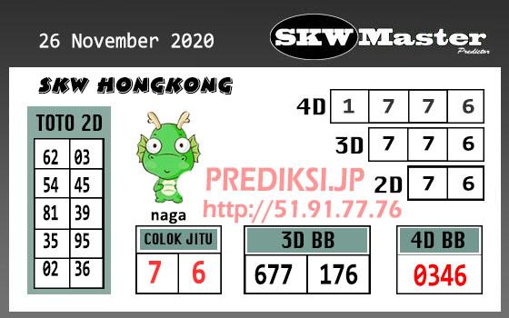 Skw Master HK Kamis 26 November 2020