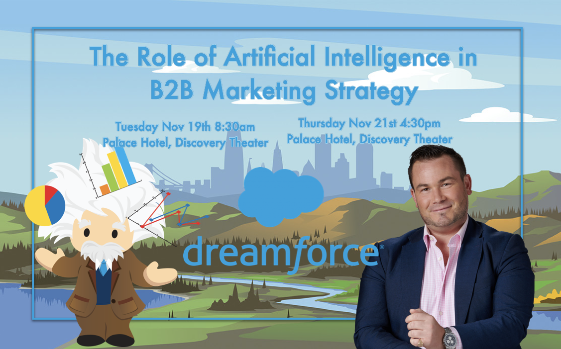 Tigh Loughhead speaker at DF2020 on Pardot Einstein Artificial Intelligence in Marketing Strategy at Dreamforce 2020