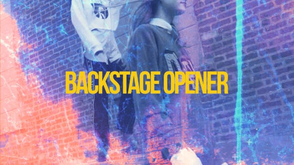 Backstage Opener[Videohive][After Effects][20389017]