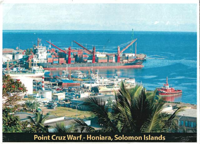 Postcard from Solomon Islands