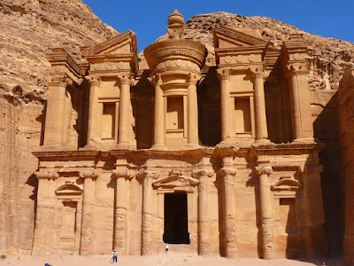 Petra, en Jordania