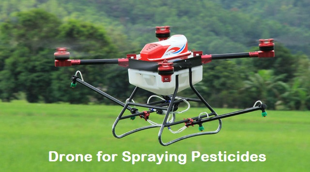 drones for spraying pesticides for plants - DRONE ACADEMY