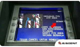 PIN ATM