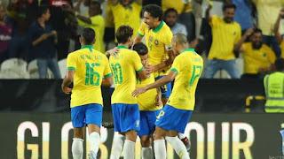 Highlight: Brazil Ease Past South Korea